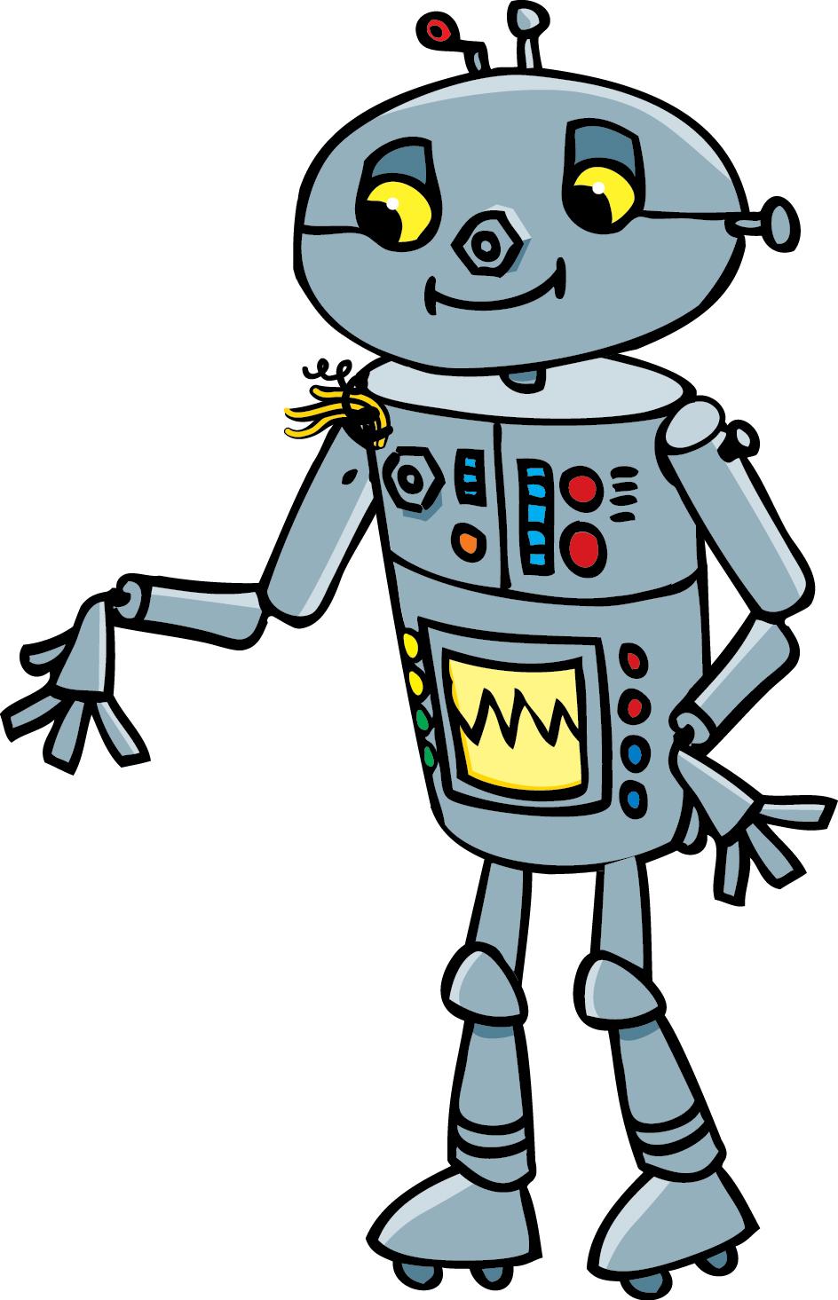 робот картинки для детей