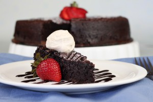 Chocolate Cake without Frosting pic 1