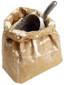 Flour in bag