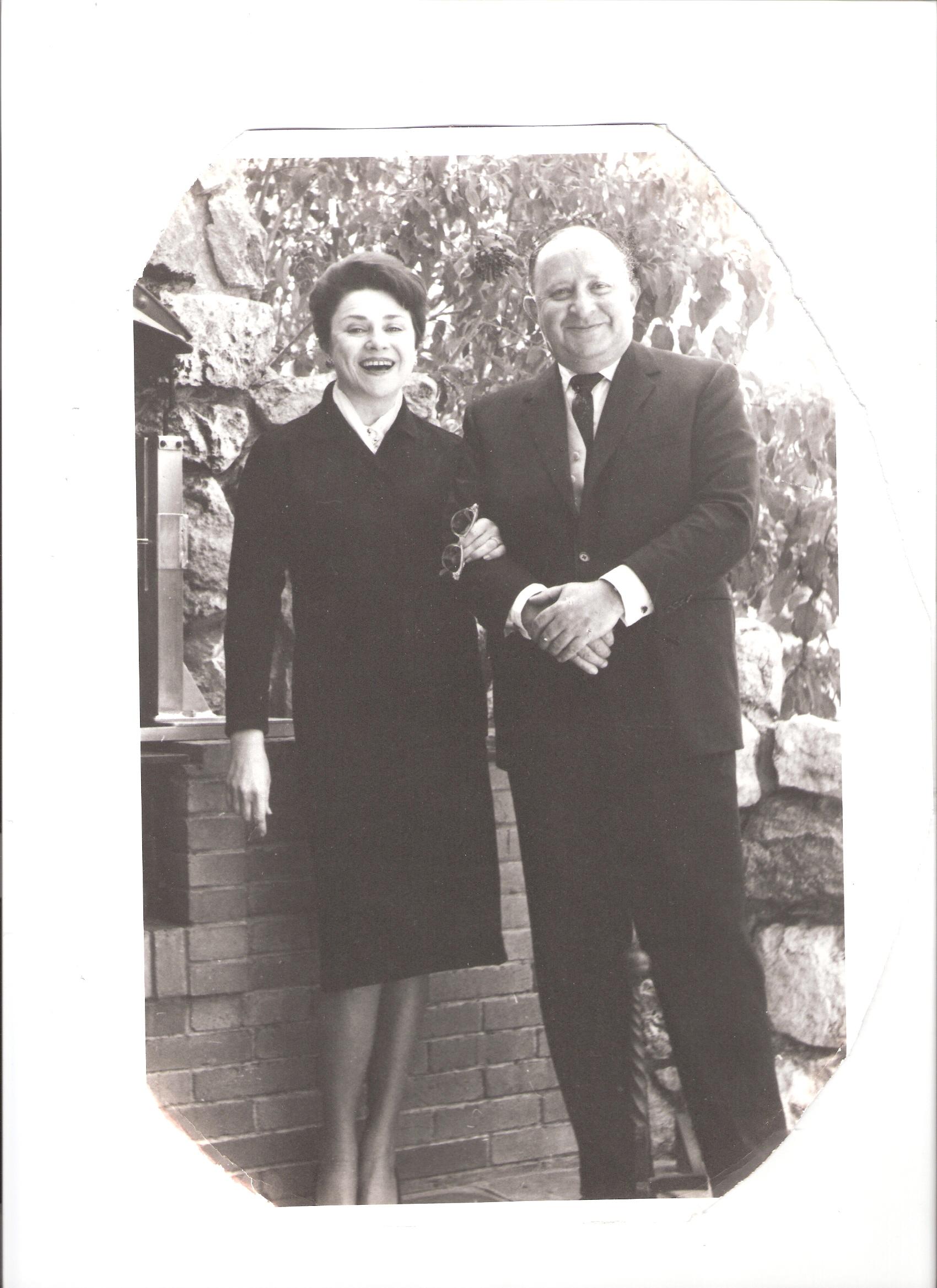 My parents Jack (56)and Norma Estelle Wolfowitz(nee Cohen)(46)