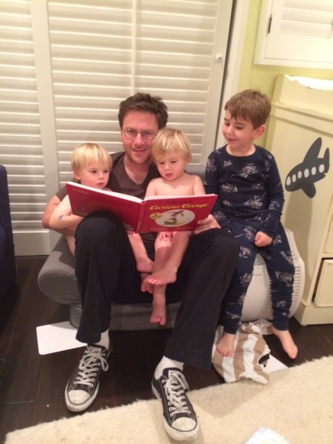 James Jack Jonah Noah Gabe November 2013 Story Time