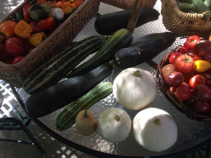 Little Farm produce 2014