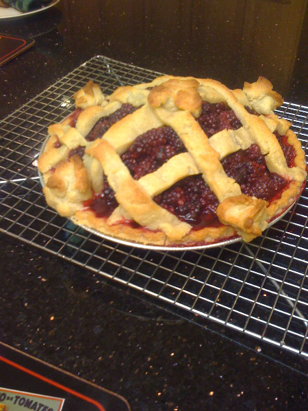 Mulberry Pie whole