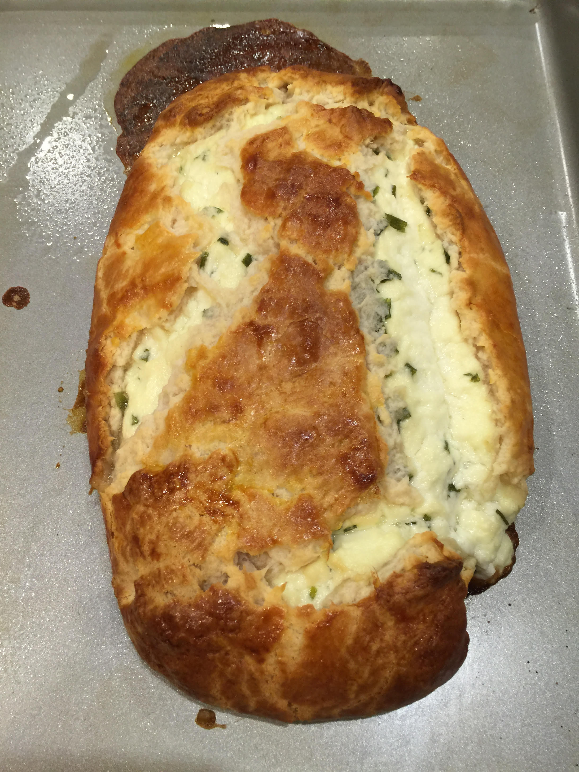 Chevre with Pastry and chives