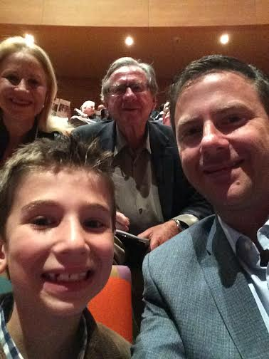 Jack James Larraine Clive at Disney Hall March 2015