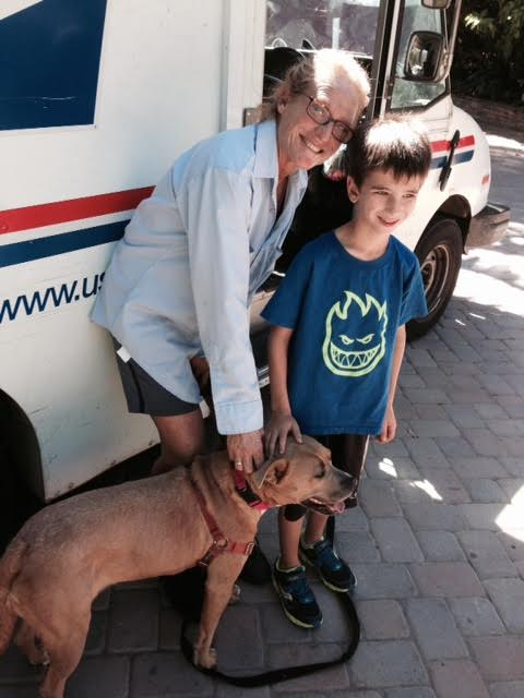 Jack meets goldie with Bonnie mail lady