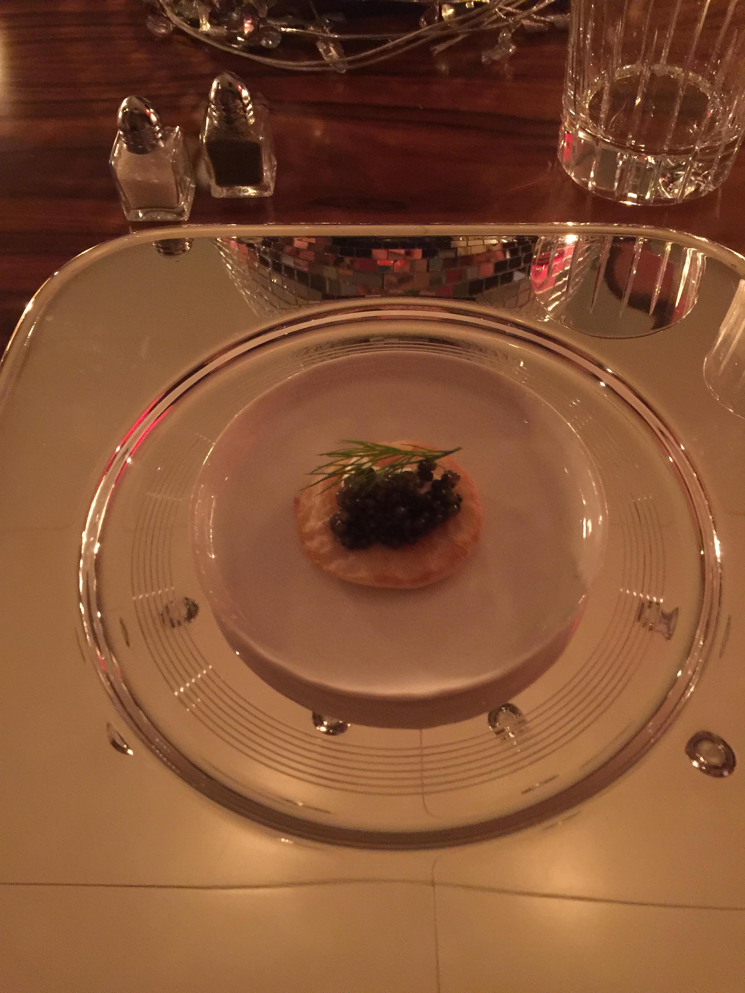 Caviar Blini again on Kai