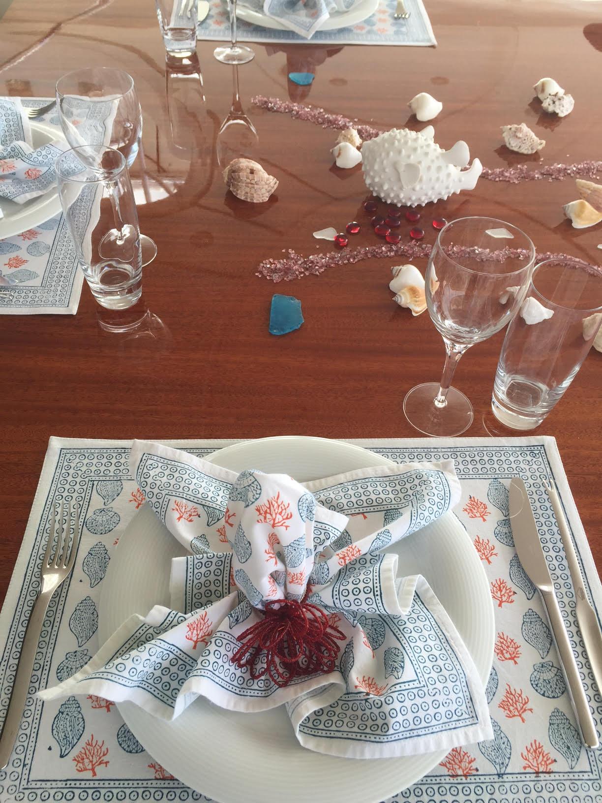 Gorgeous Table setting on Kai