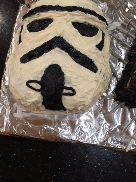 Jacks bday cake Storm Trouper