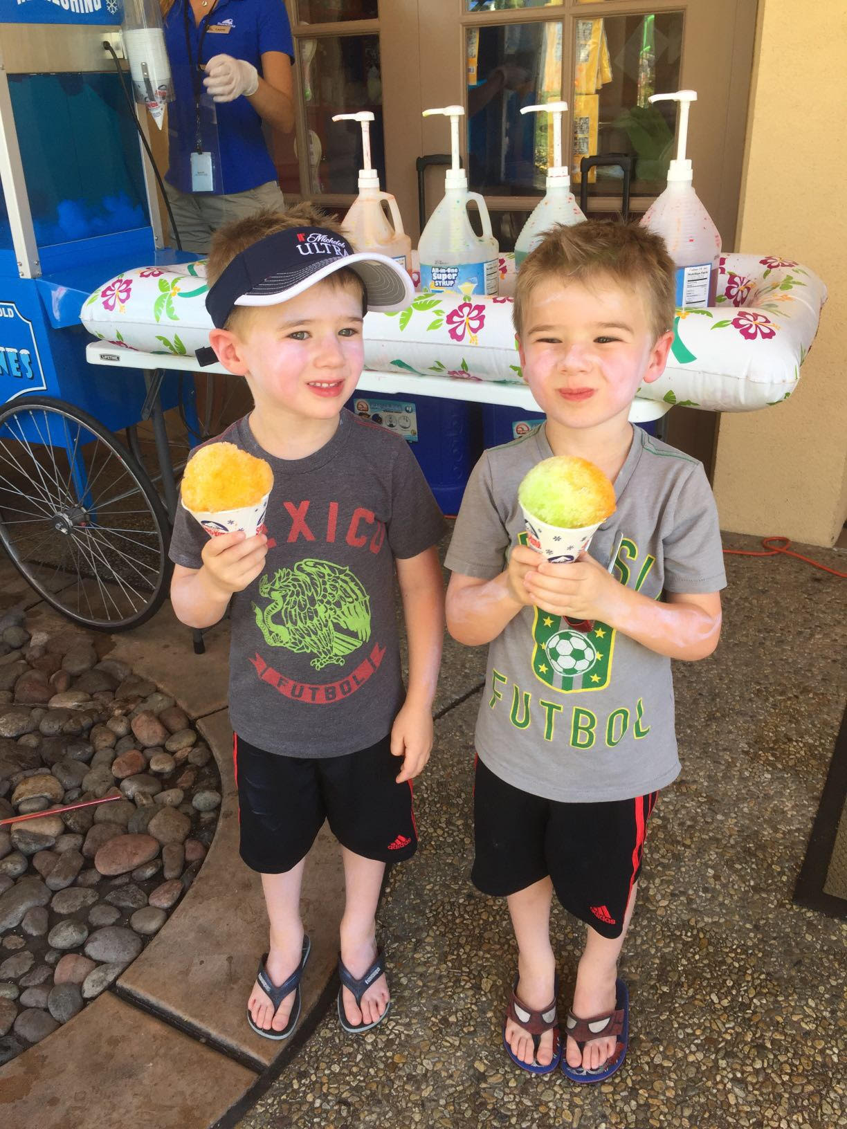 Twins snow cones fam week 2016 - Copy