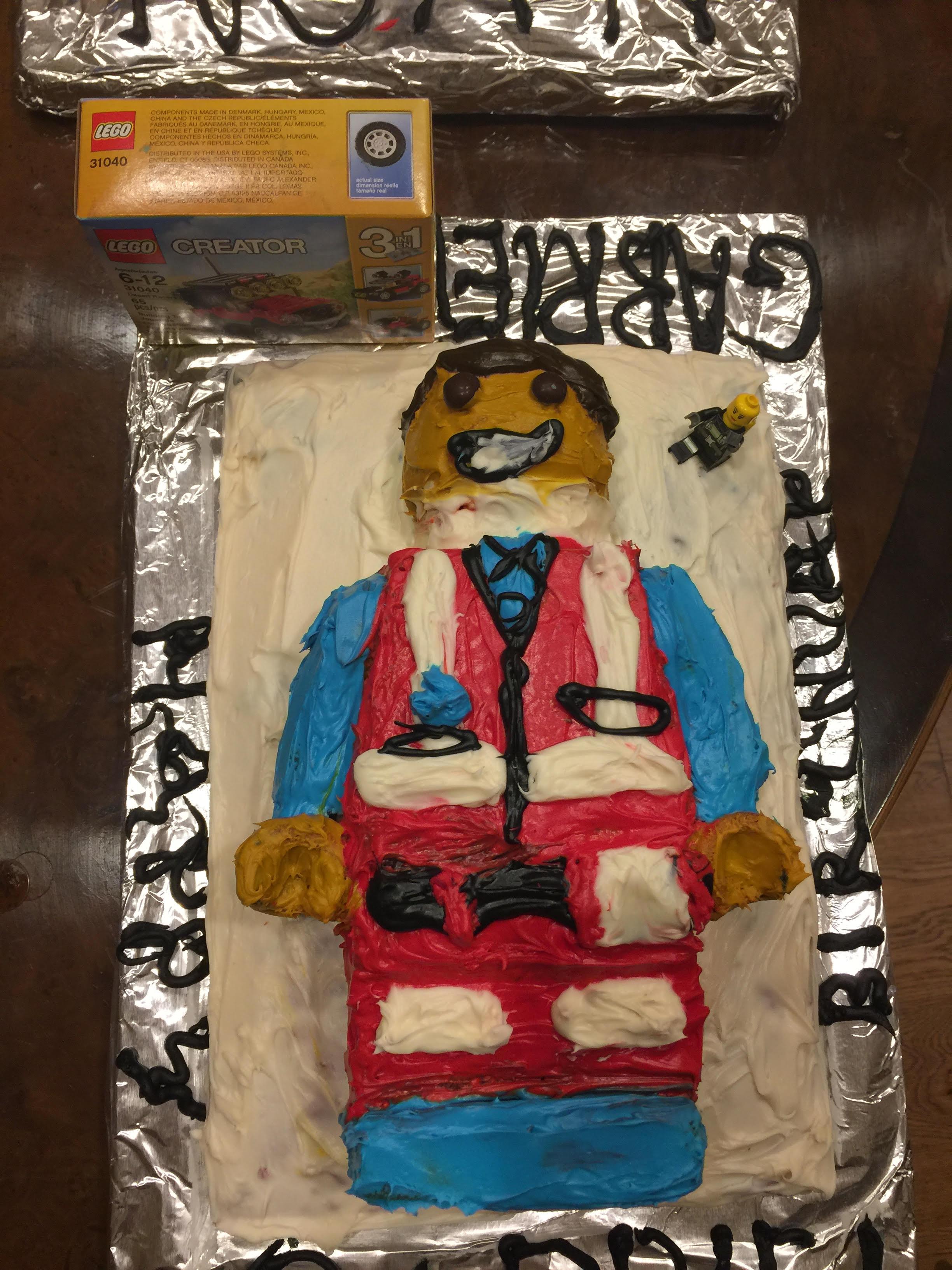 Birthday Cake Vampire Birthday Cake Lego Man Birthday cake Twins